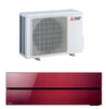 Mitsubishi Klimagerät M-Serie Wand MSZ-LN25 VG2R Farbe: Ruby Red 2,5 kW